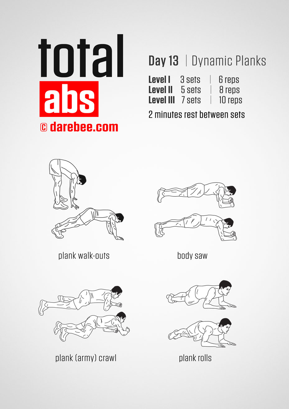Total Abs 30 Day Program by DAREBEE