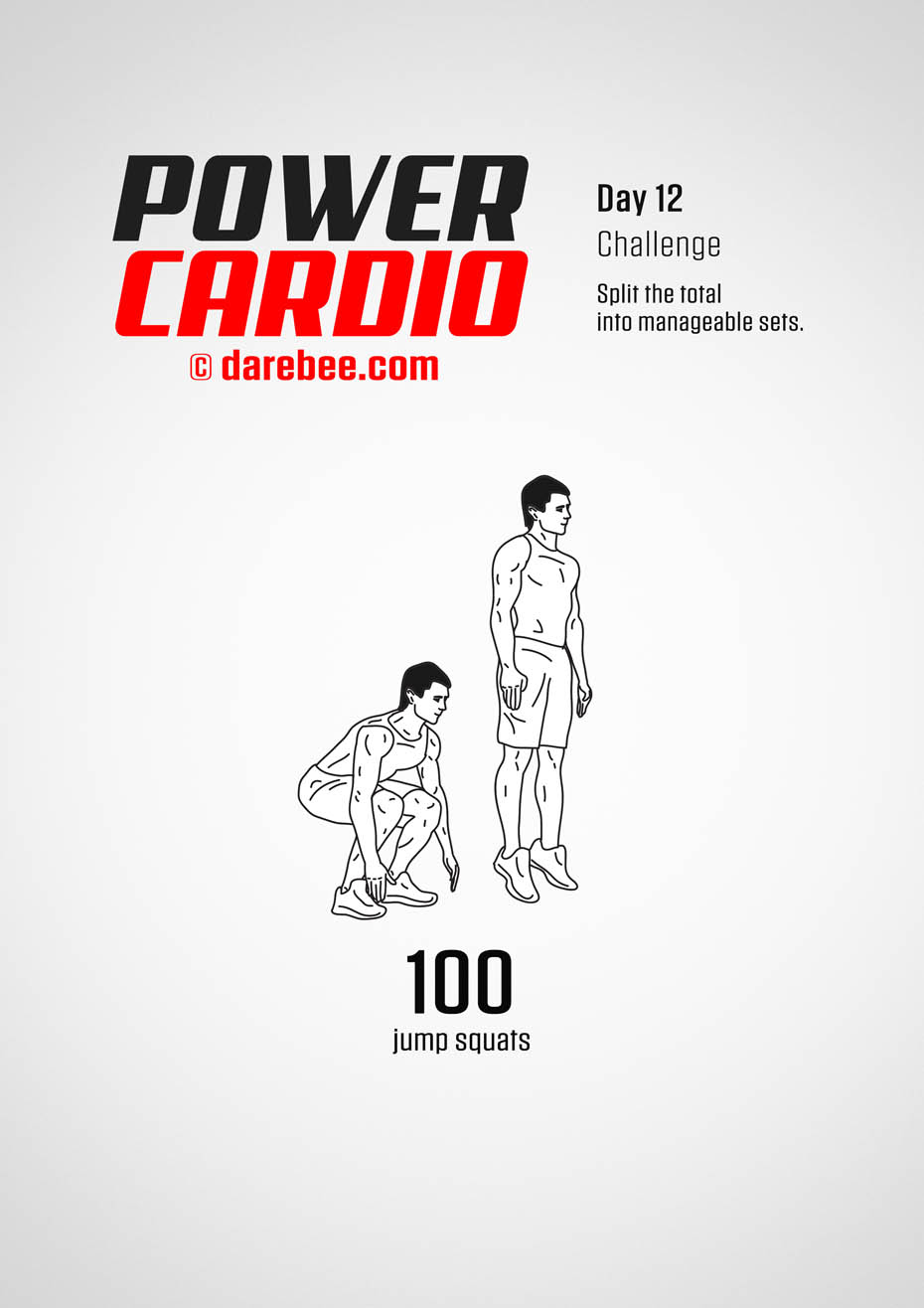 Power Cardio: 30-Day Fitness Program