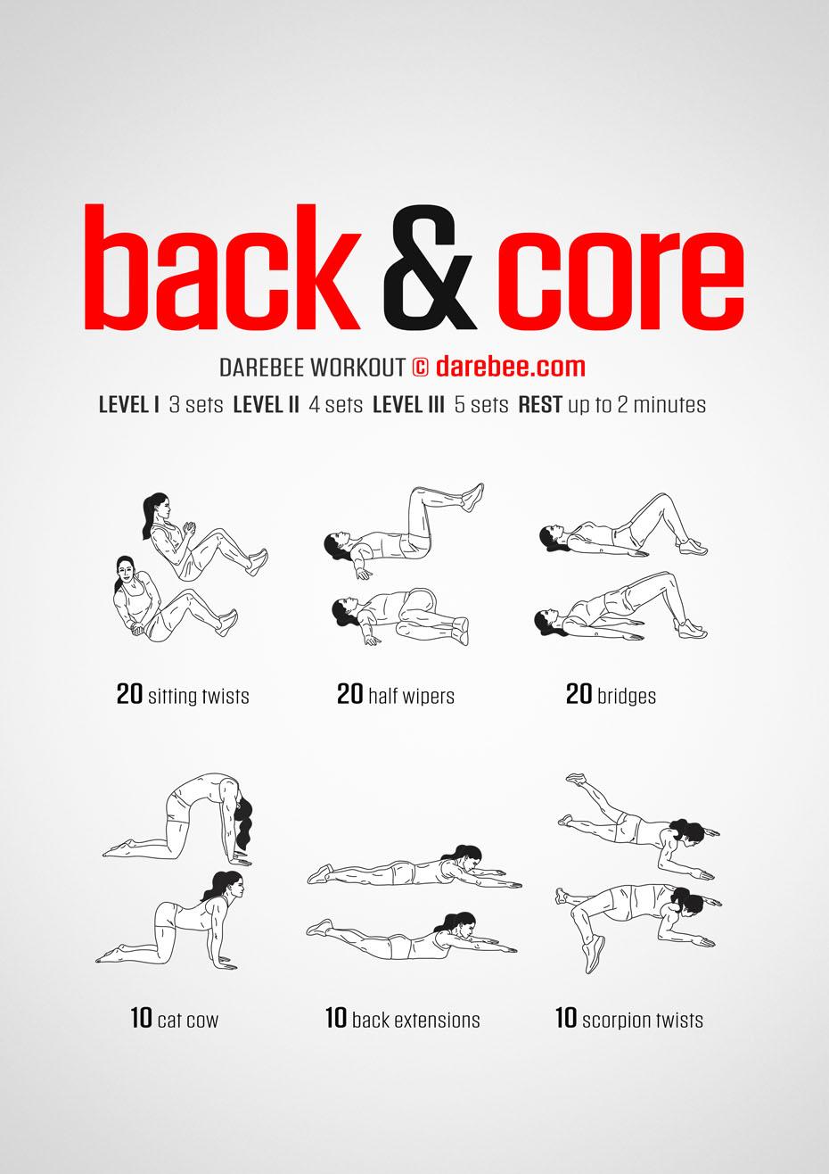 Back amp Core Workout