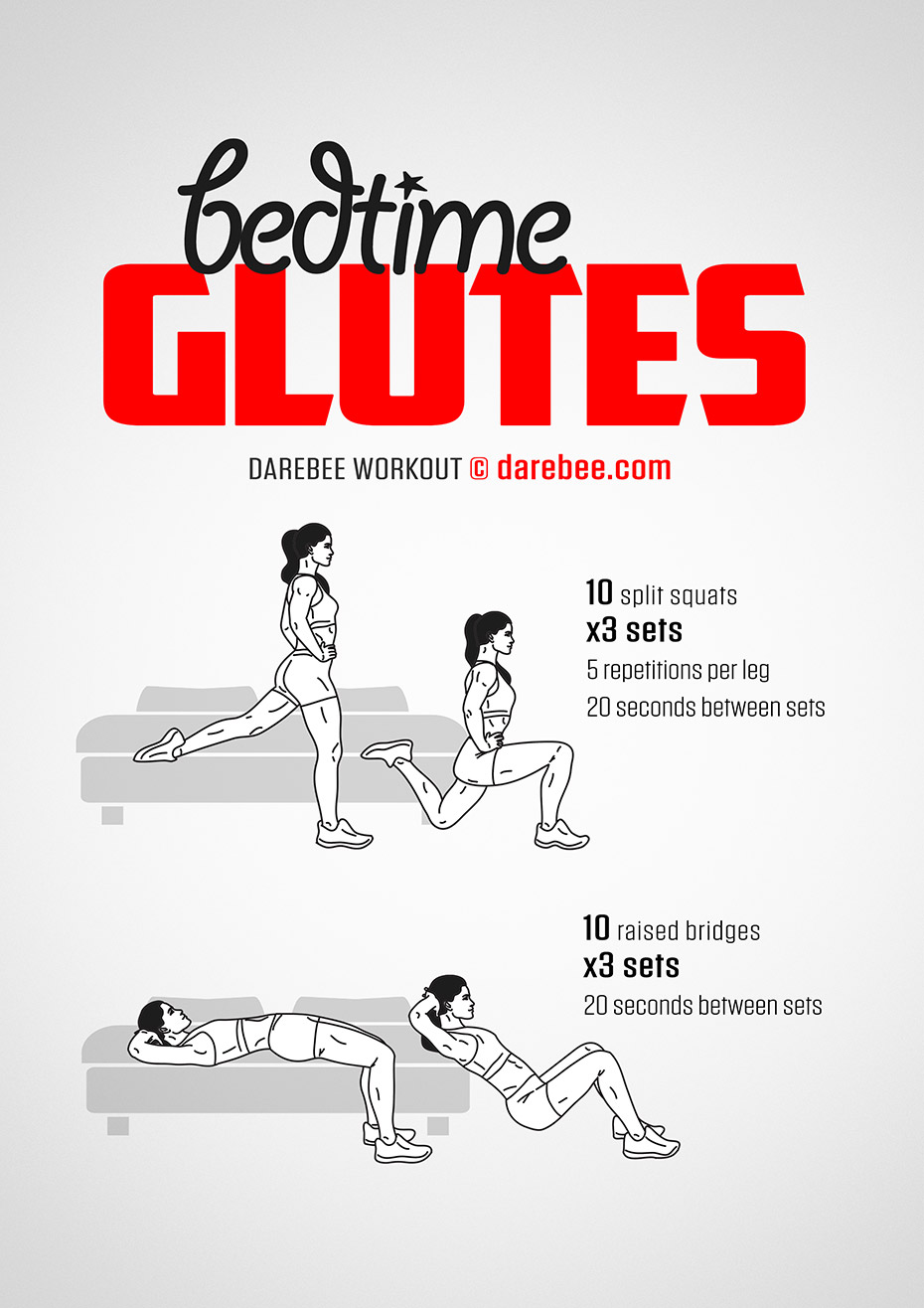 Bedtime Glutes Workout