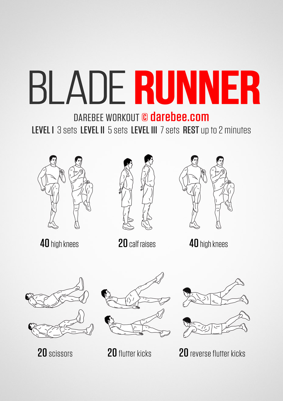 Blade Runner Inspired Workout