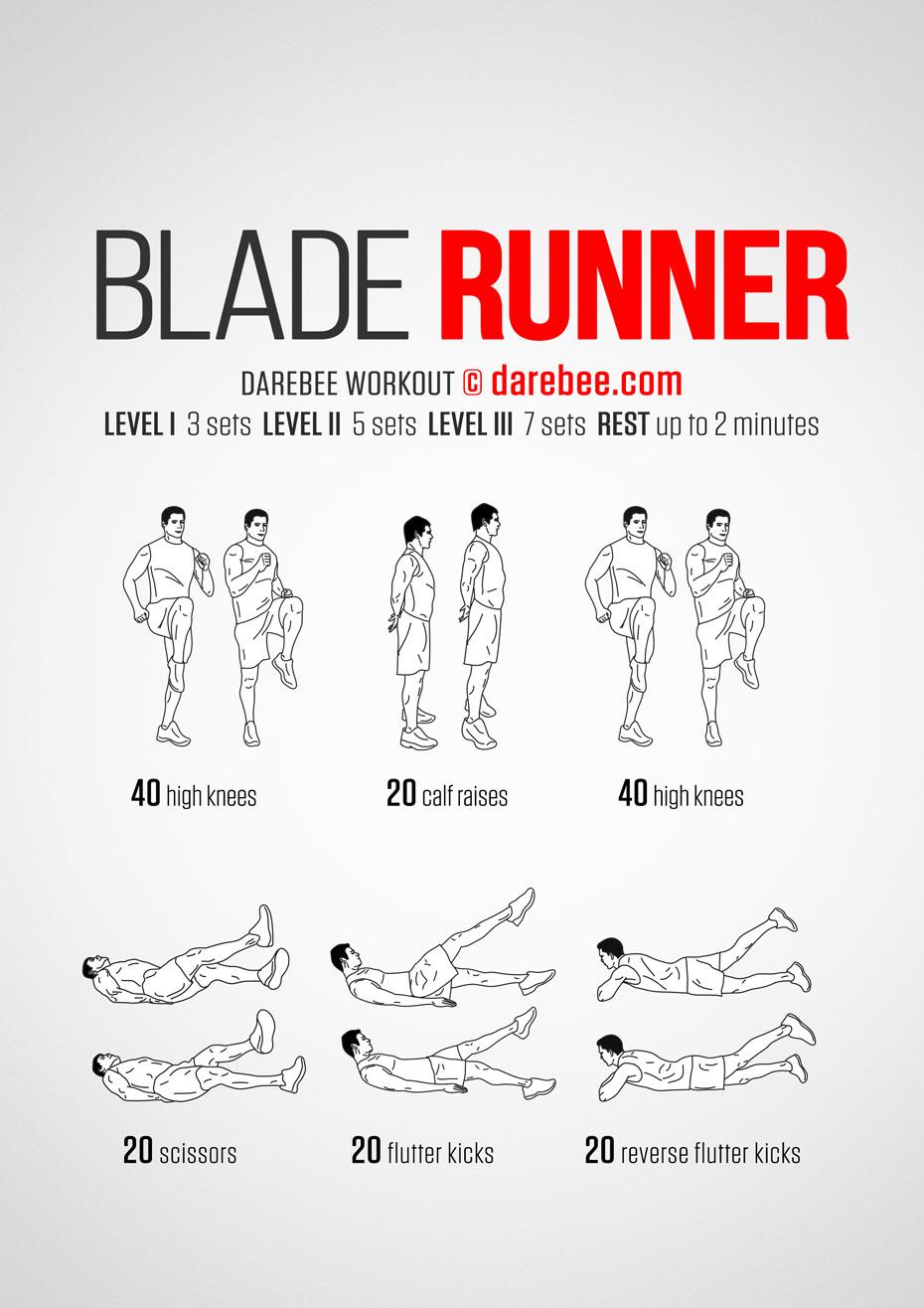 Blade Runner Inspired Workout