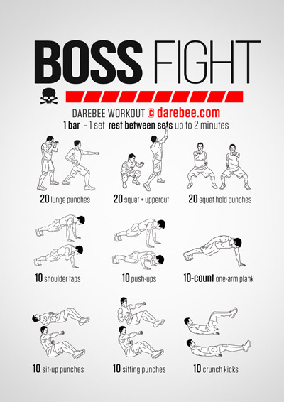 Boss Fight Workout