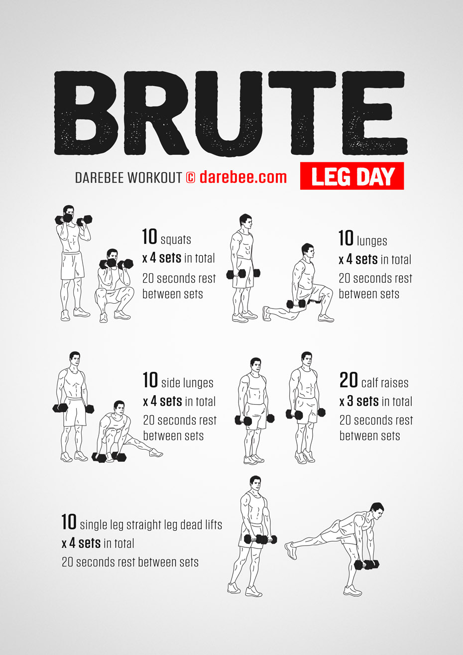 Brute: Leg Day Workout