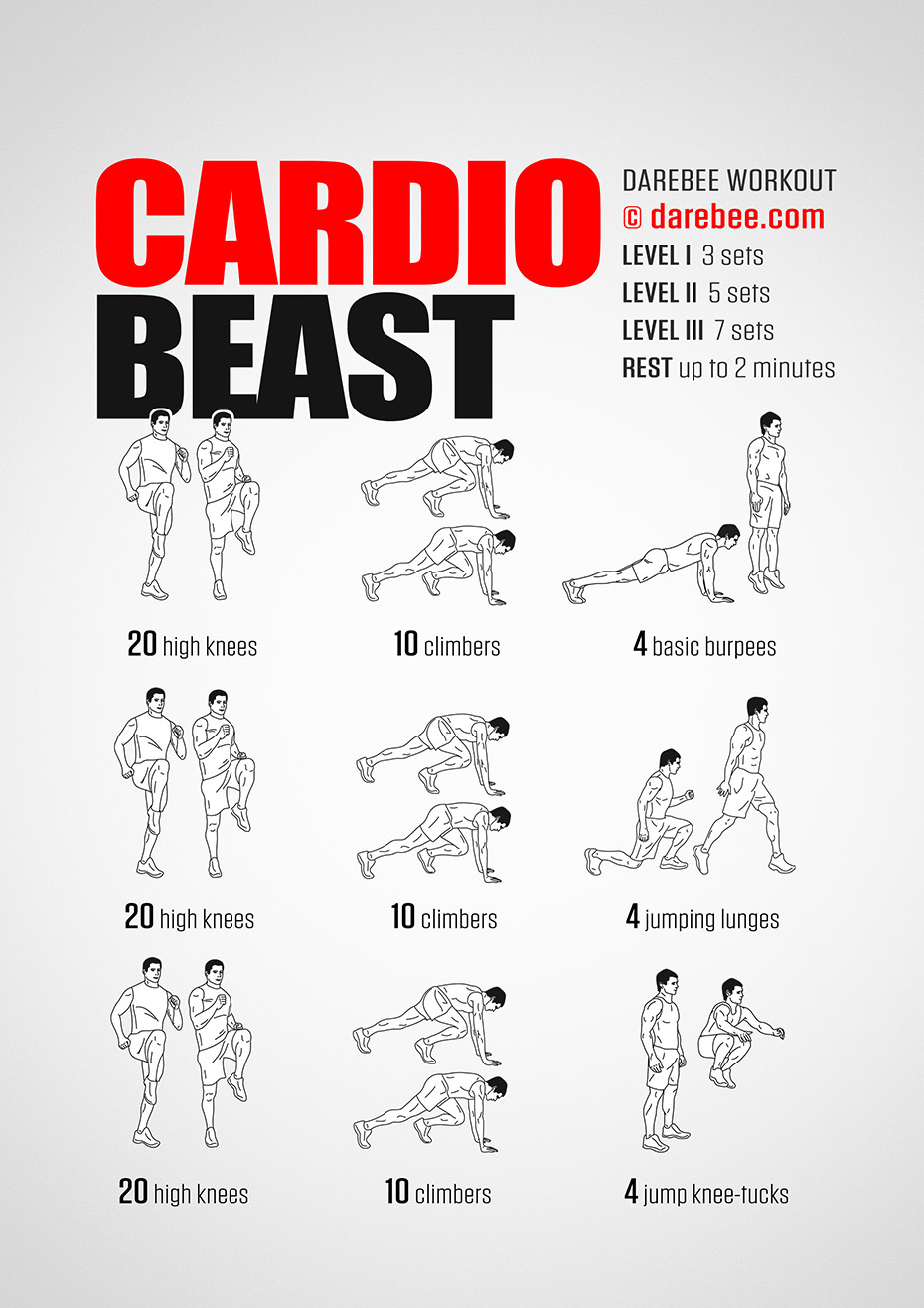 The bodyweight beast workout