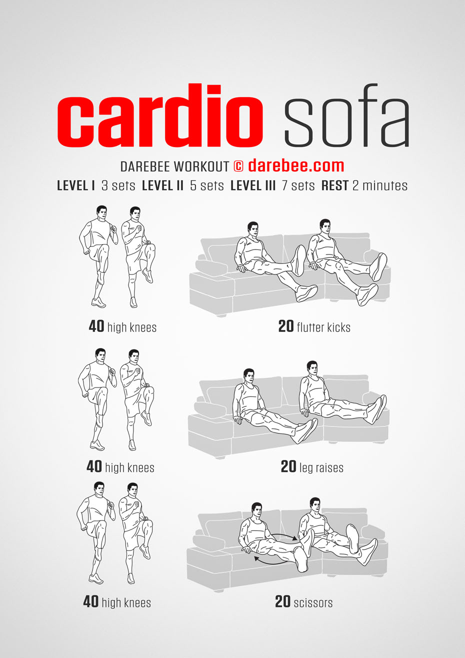 Cardio Sofa Workout