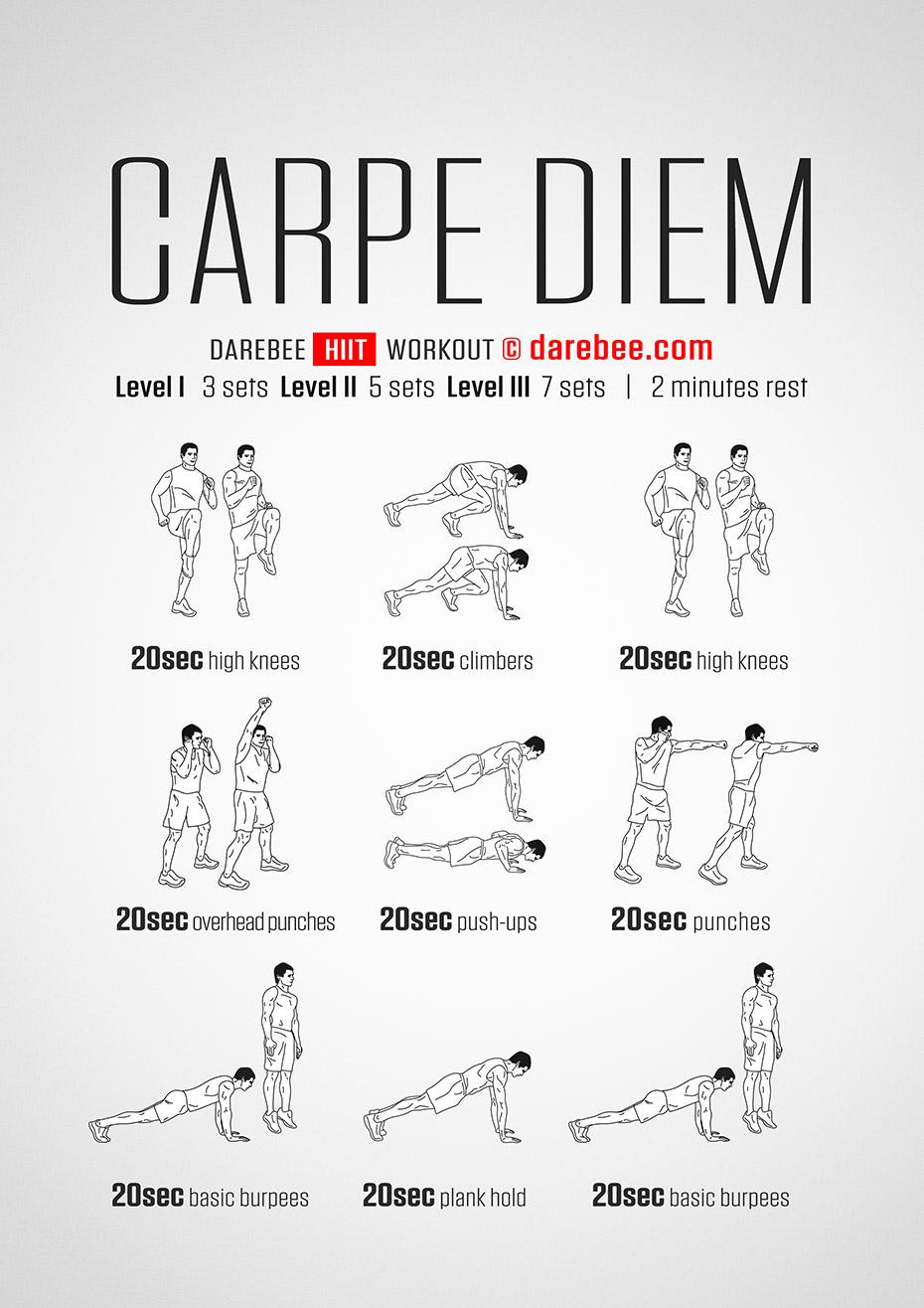 Carpe diem workout for What does carp mean