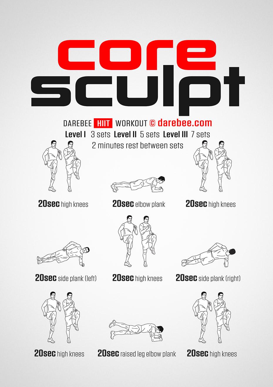 Core Sculpt Workout