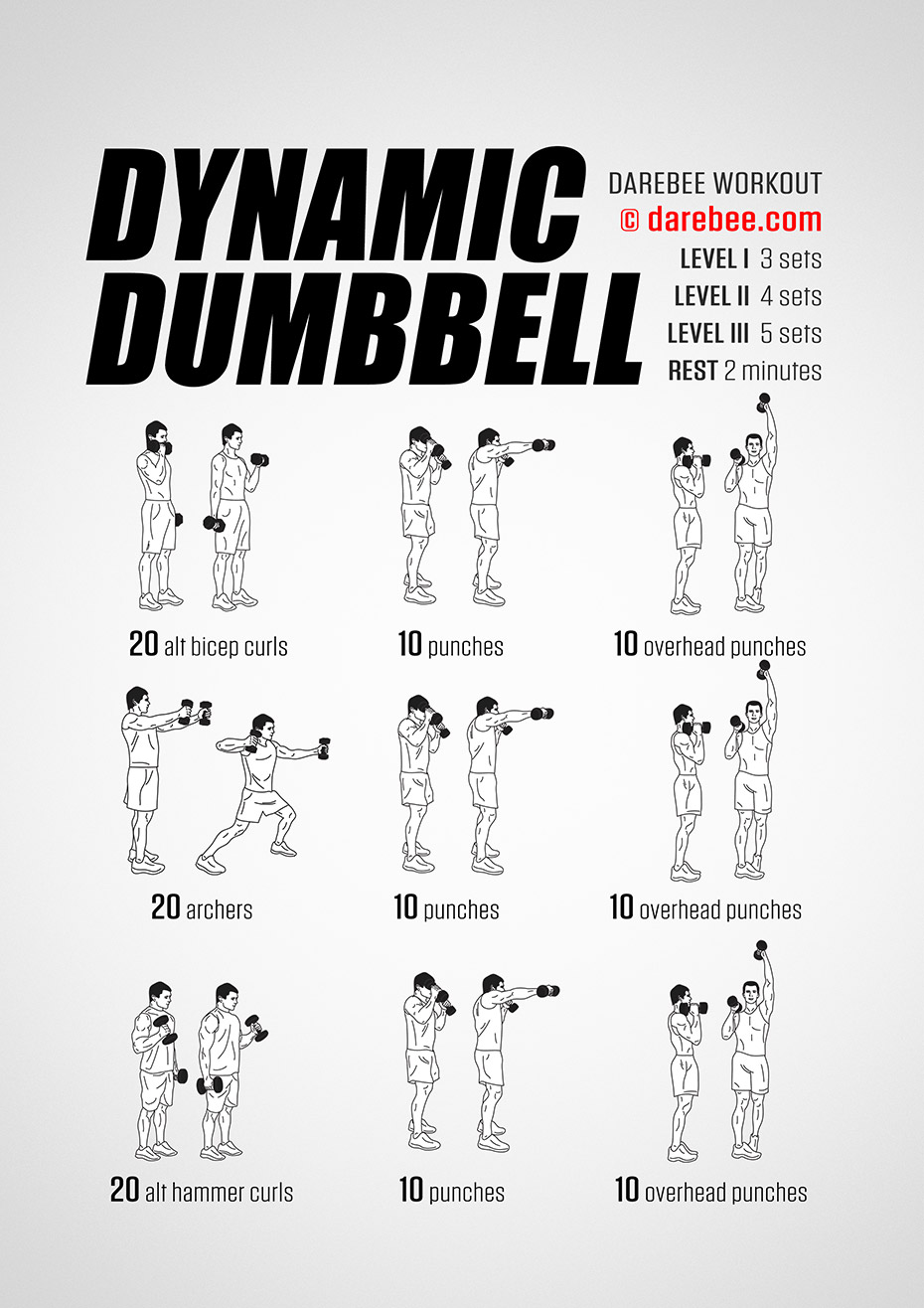 Dynamic Dumbbell Workout