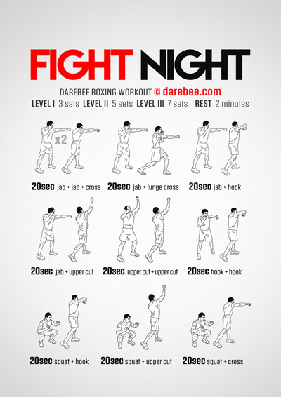 Fight Night Workout