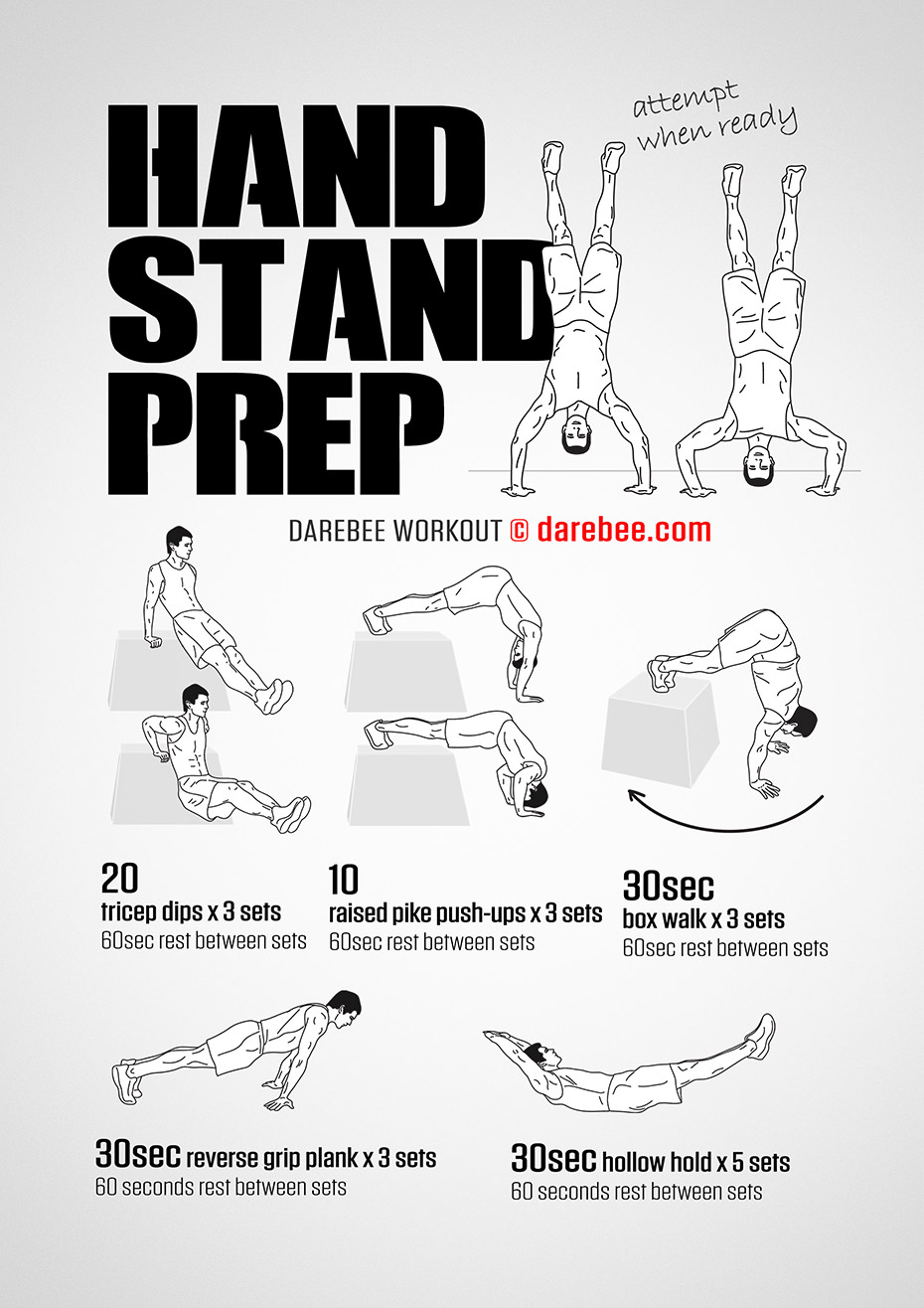 Handstand Prep Workout