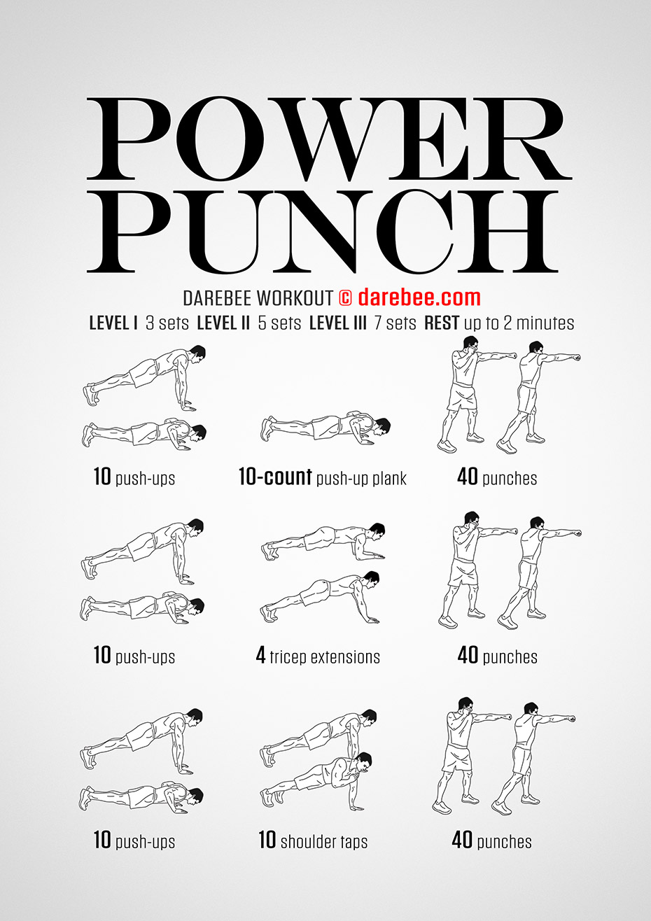 Power Training: Power Training Workout Cards
