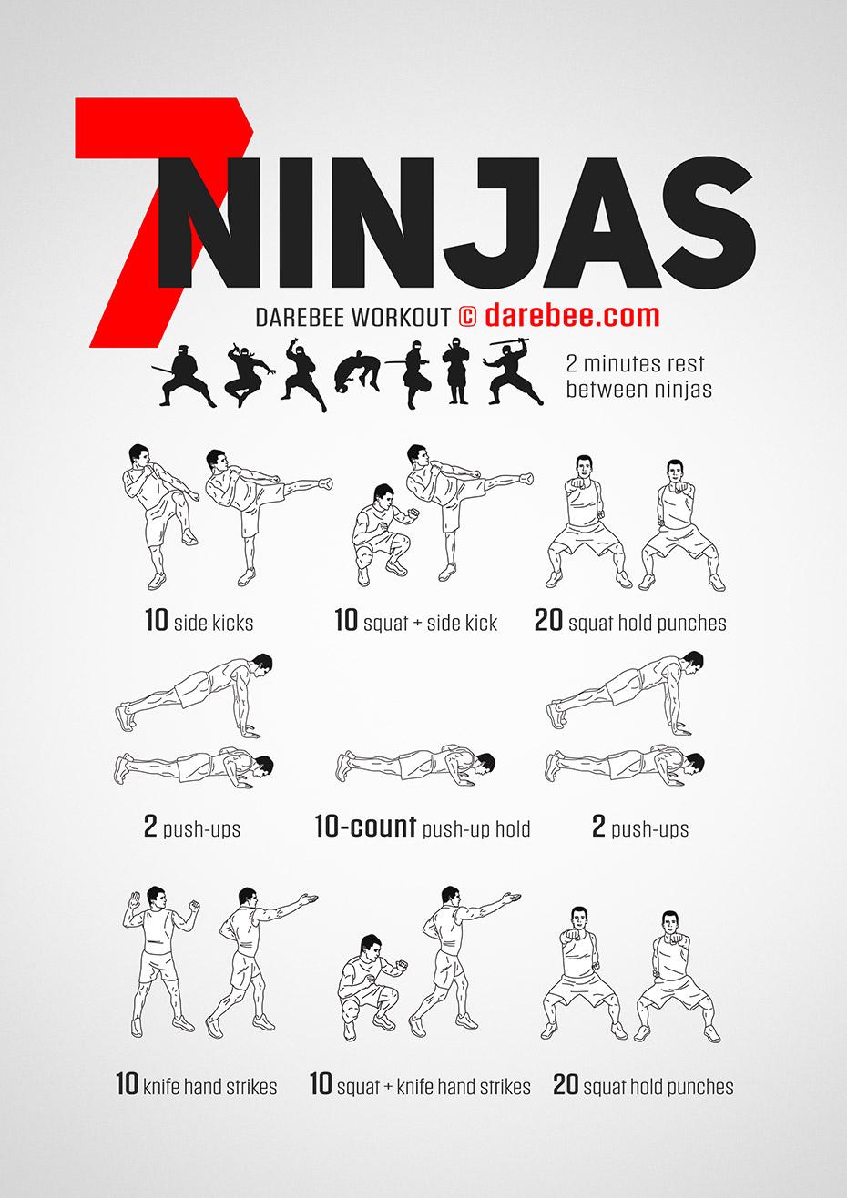 Seven Ninjas Workout