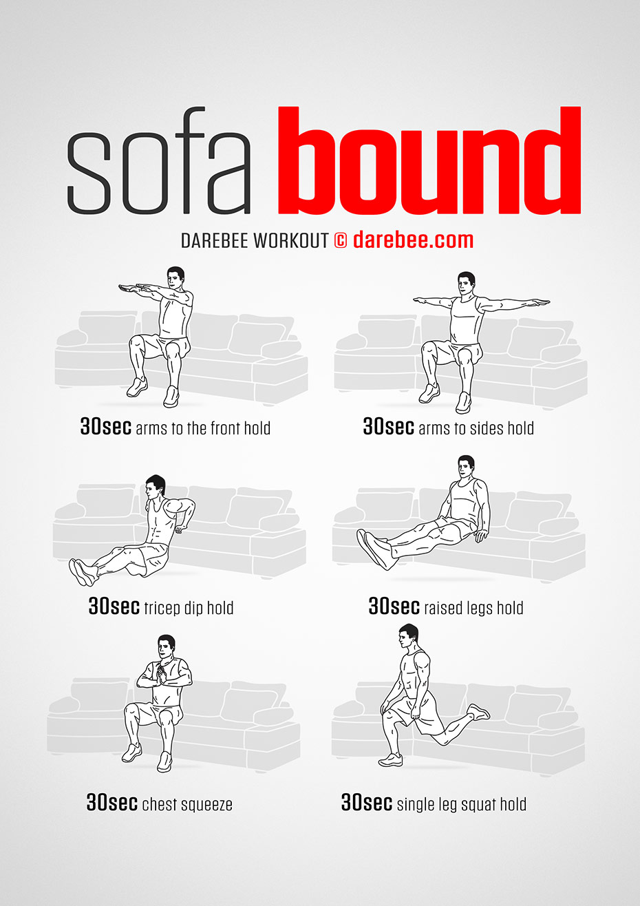 Sofa Bound Workout