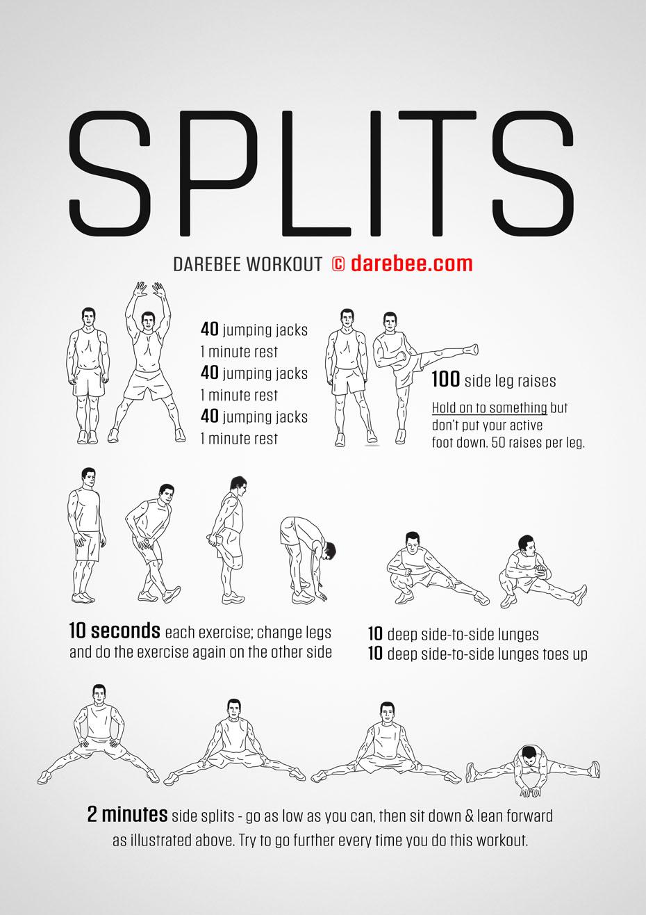 Splits Workout