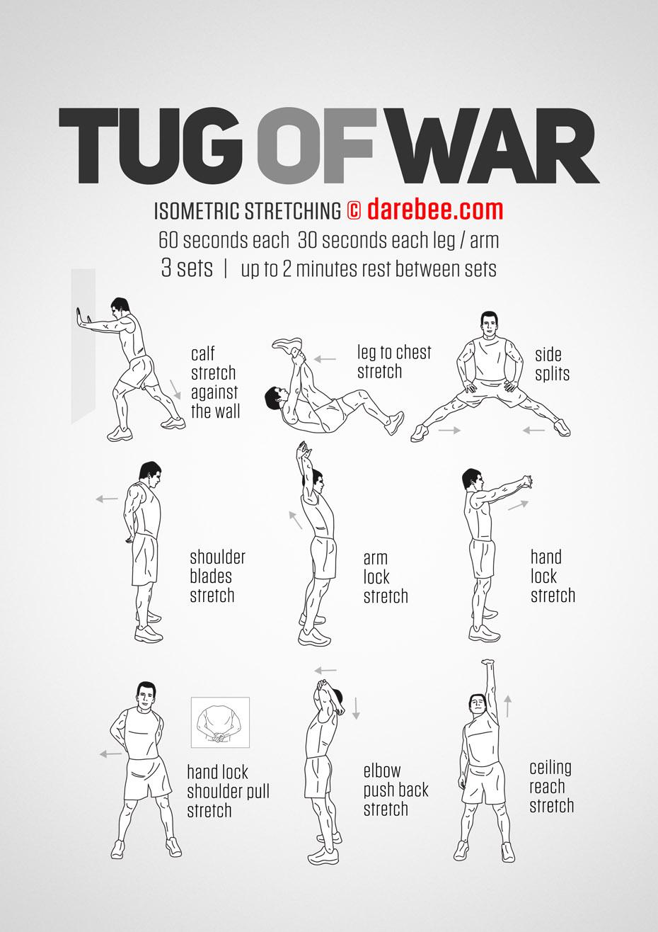 Tug Of War Workout
