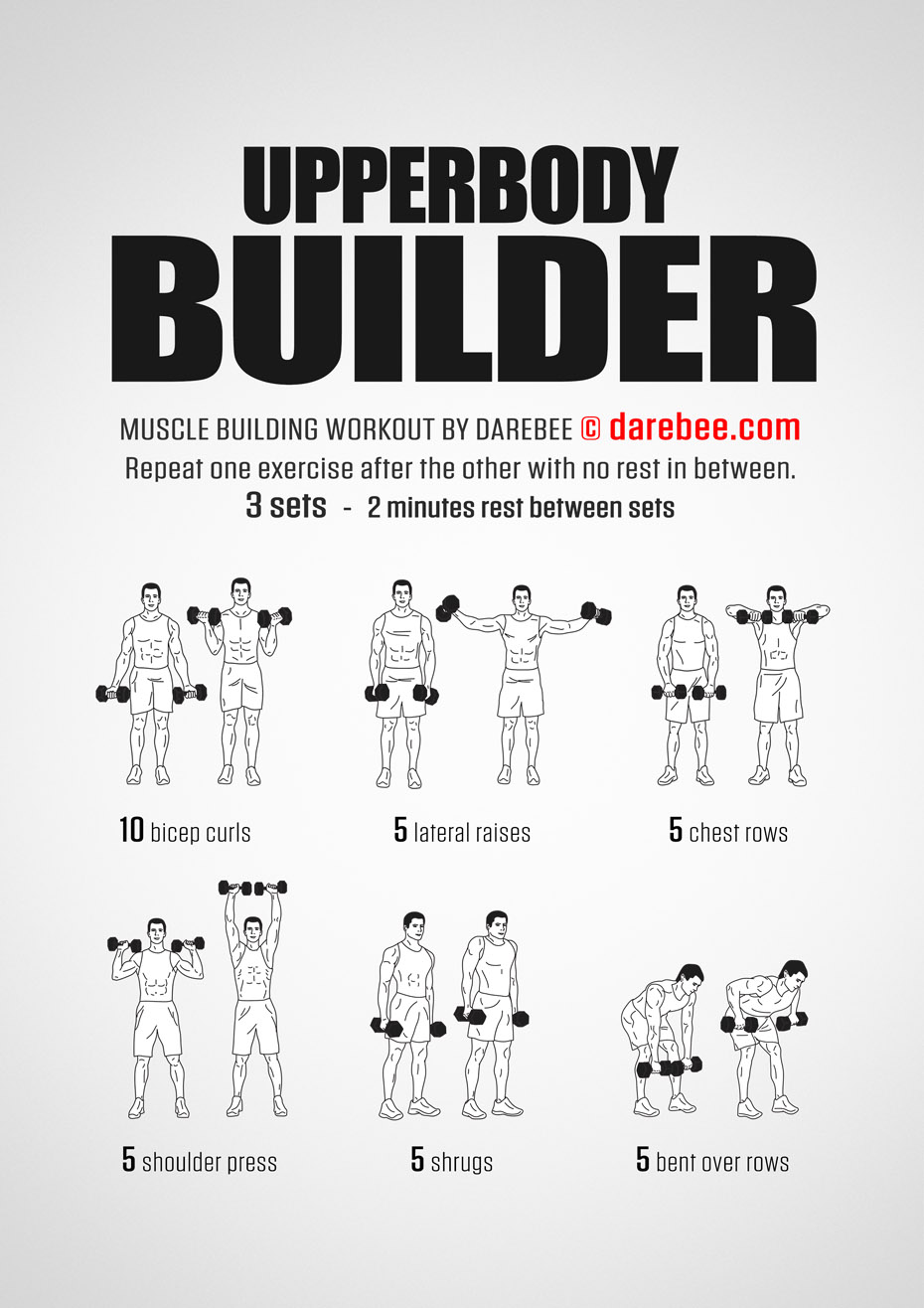 How To Build Your Upper Body In  Weeks