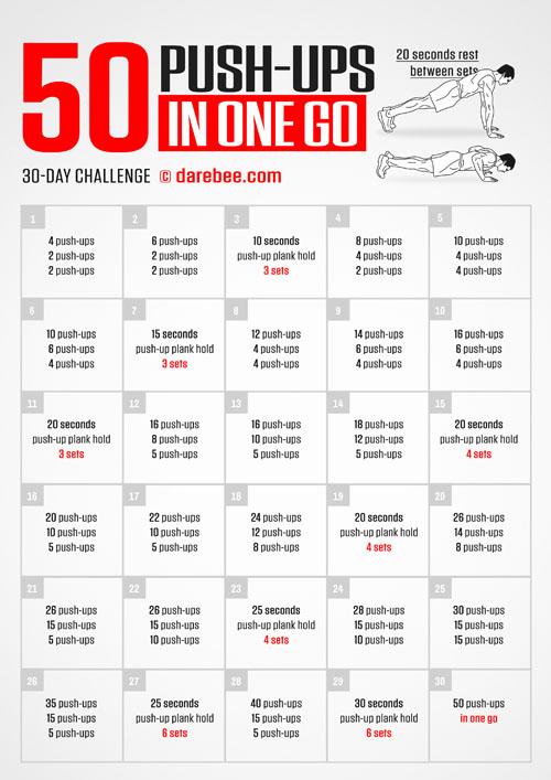 100 Floor Challenge Workout