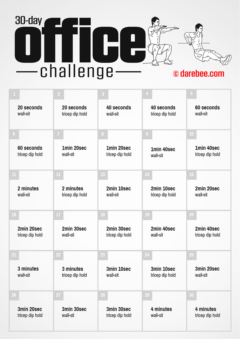 30-Day Challenge by DAREBEE