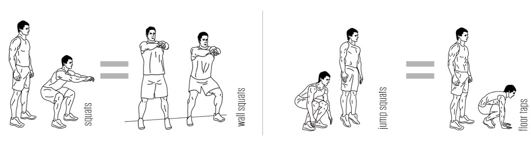 Squat Modifications