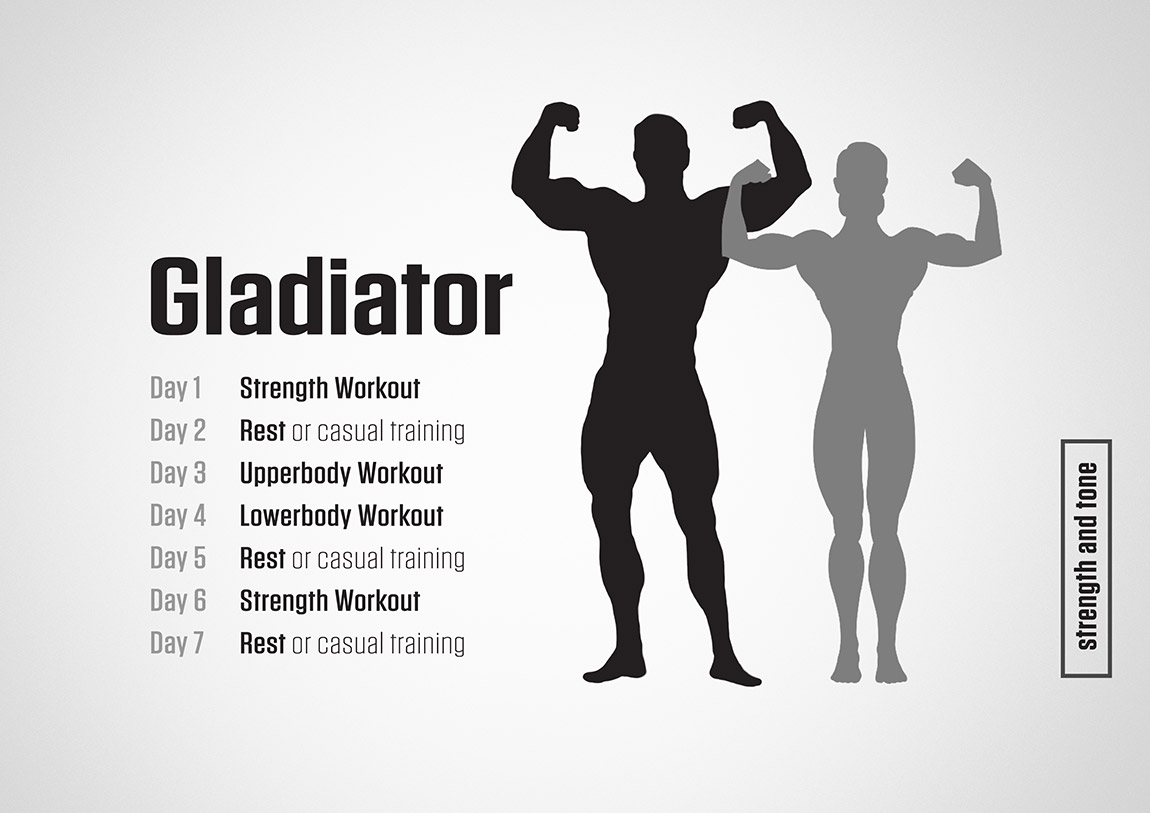 Gladiator Training Plan