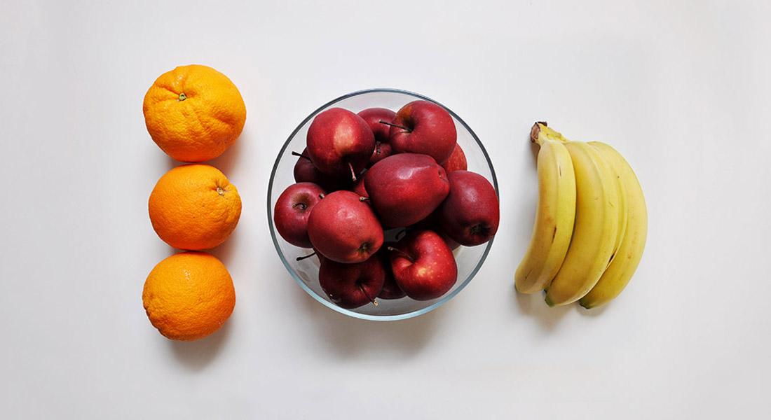 Healthy Eating on a Budget - Default Fruit: apples, bananas, oranges