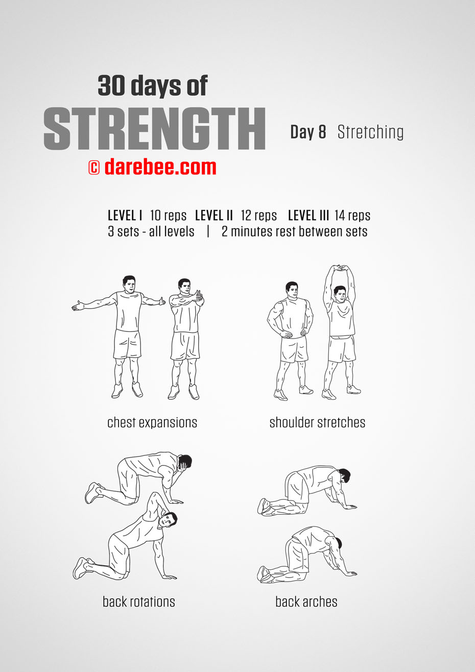 30 Days of Strength by DAREBEE