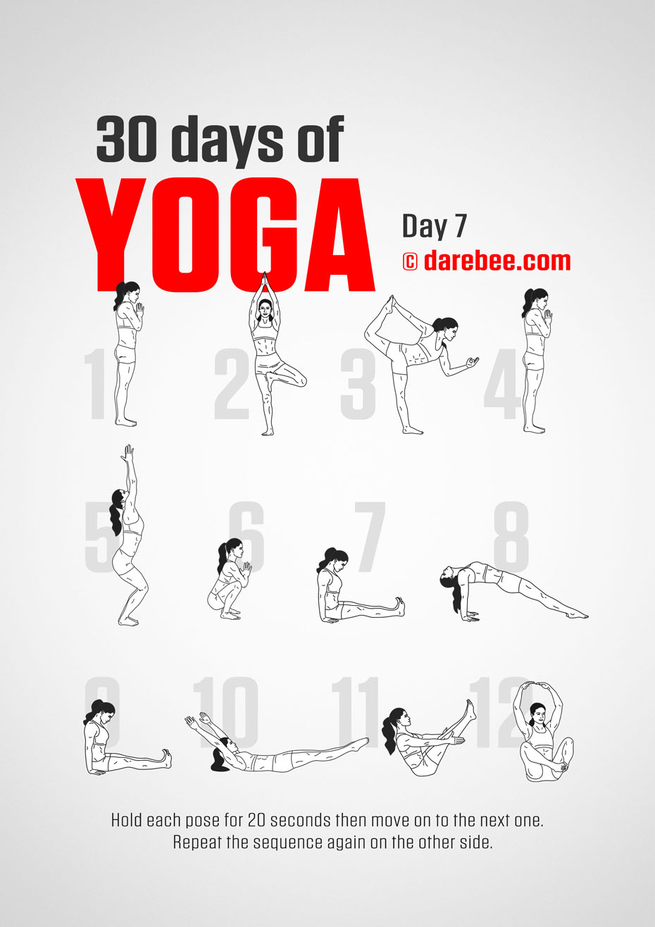 30 Days of Yoga - 30 Day Tendon Strength Program
