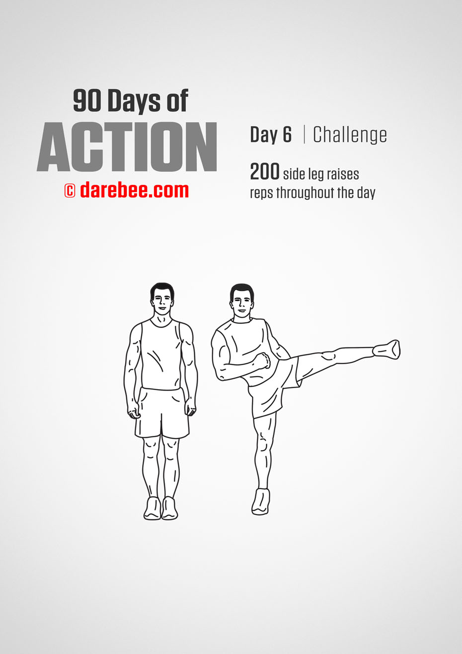 90 Days of Action by DAREBEE