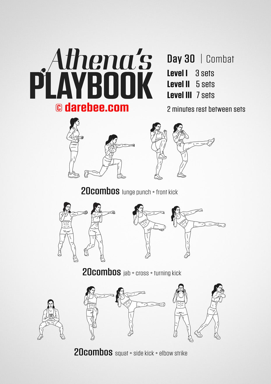 Athena's Playbook - 30 Day Program by DAREBEE
