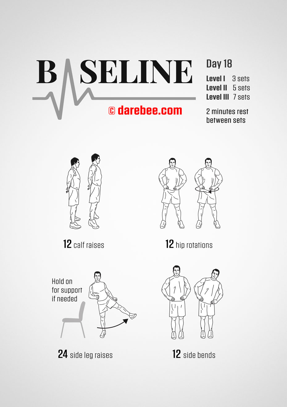 Baseline - 30 Day Low Impact Bodyweight Program