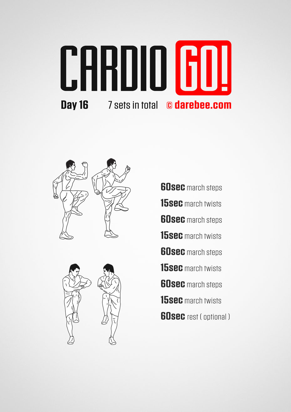 Cardio Go! - 30 Day Bodyweight Program