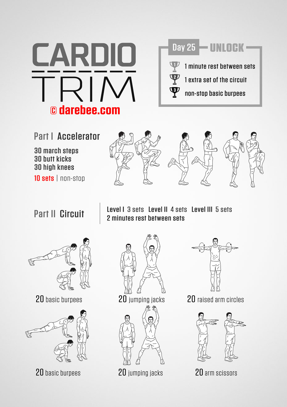 Cardio Trim: 30-Day Fitness Program