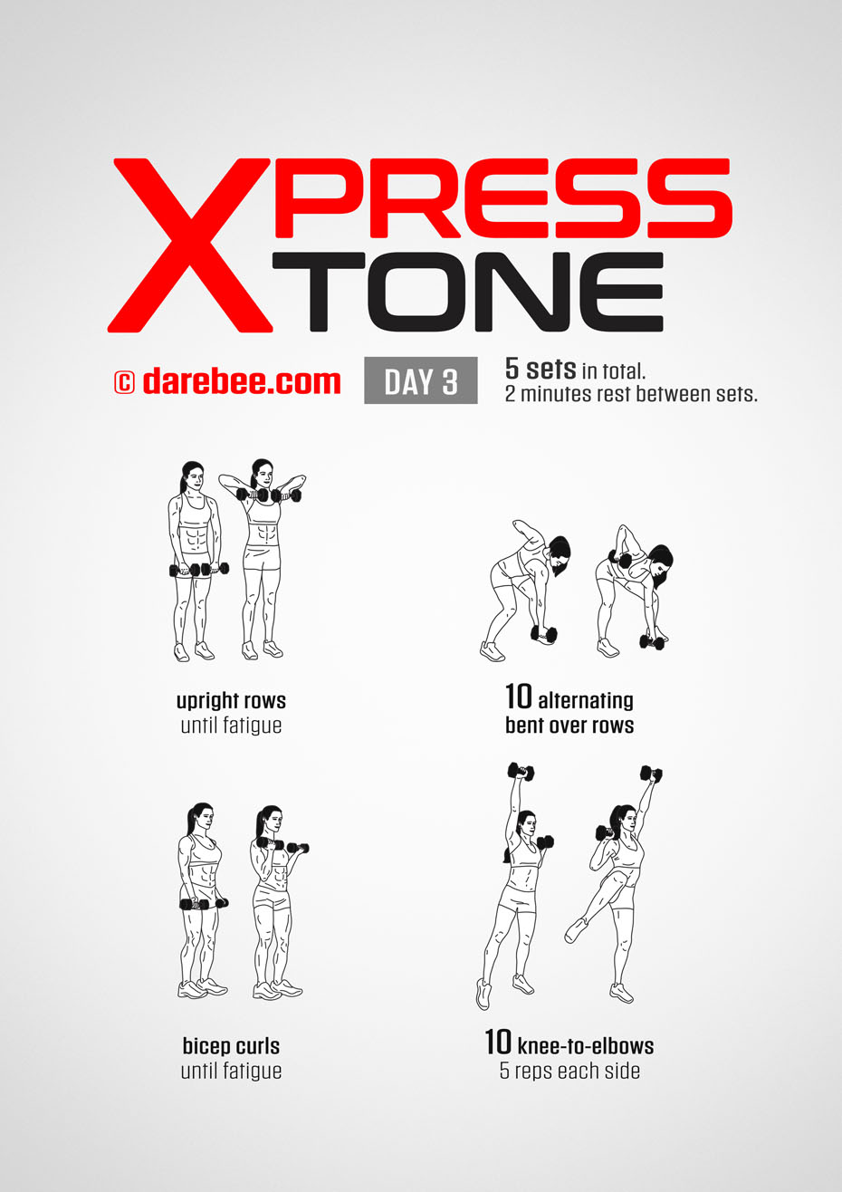 Express Tone - 30 Day Dumbbell Tone Program