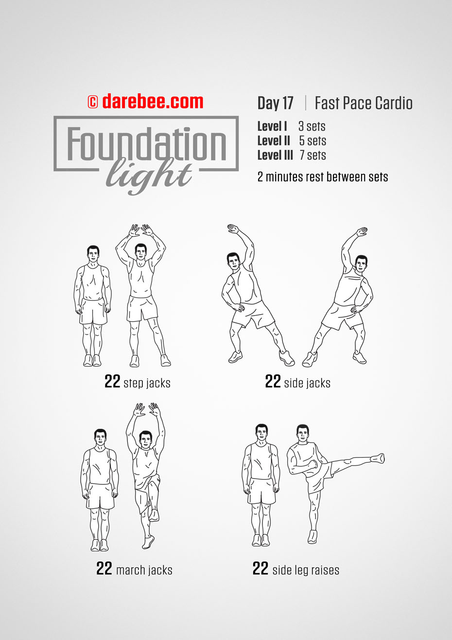 Foundation - 30 Day Low Impact Bodyweight Program