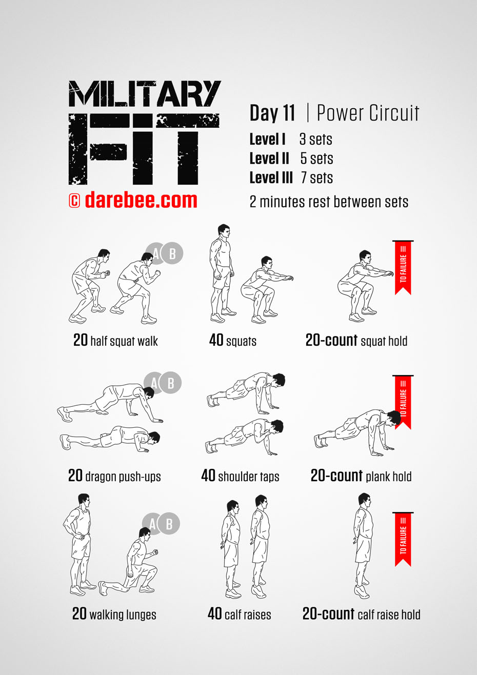 Military Fit: 30-Day Fitness Program