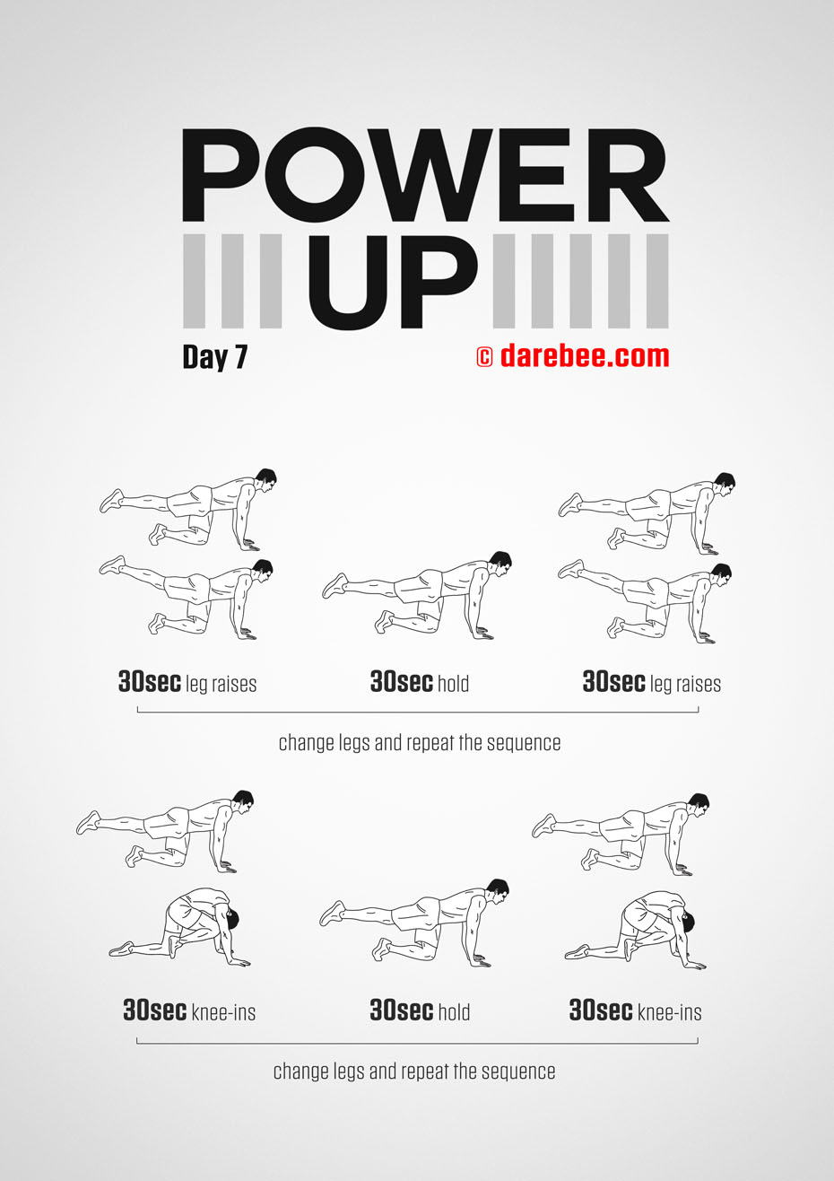 Power-Up - 30 Day Tendon Strength Program