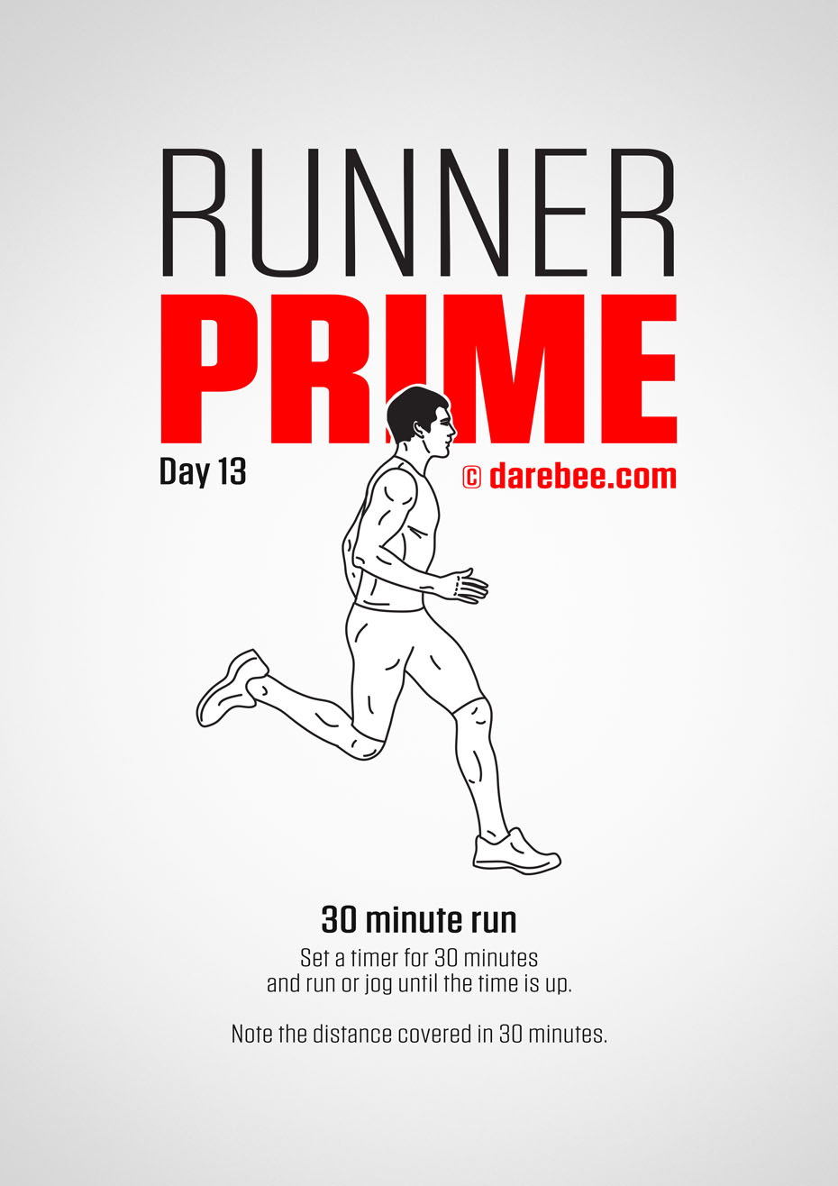 Runner Prime - Running Program by DAREBEE