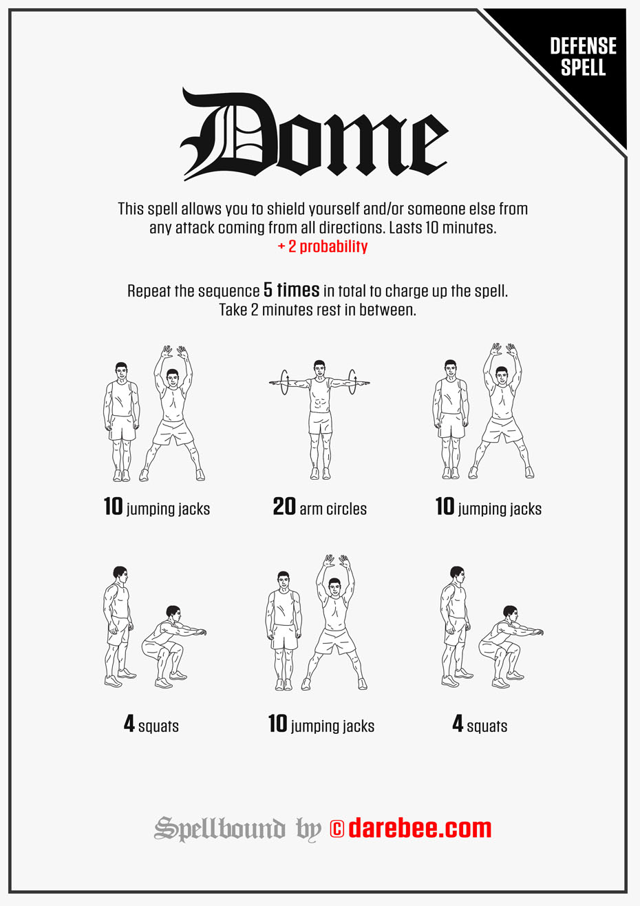 Spellbound - 30-Day Fantasy Fitness Adventure by DAREBEE