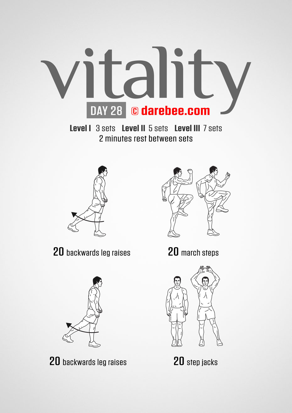 Vitality - 30 Day Low Impact Bodyweight Program
