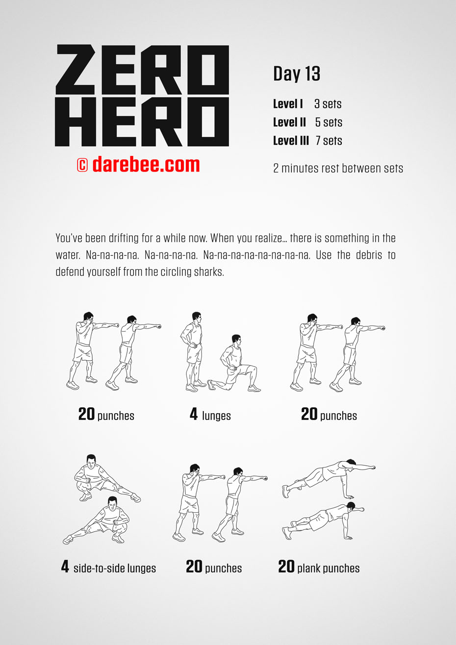 Zero Hero - 30 Day Low Impact Bodyweight Program