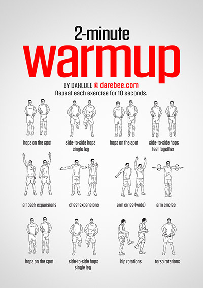 Classroom Warm Up Ideas ~ Warmup stretching