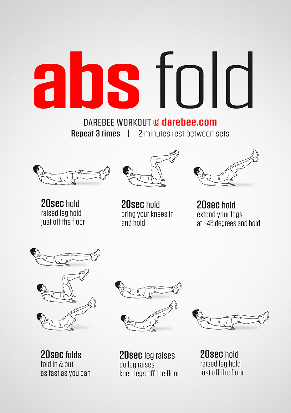 Abs Fold Workout