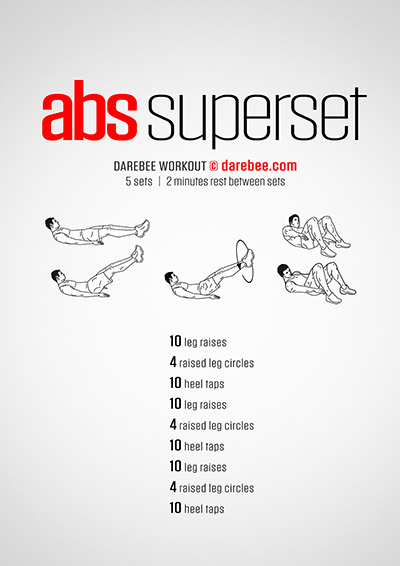 Abs Superset Workout