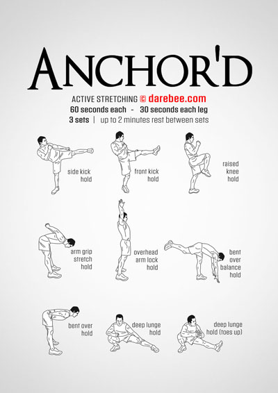 Anchored Workout