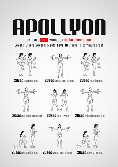 Apollyon is a free HIIT workout by Darebee