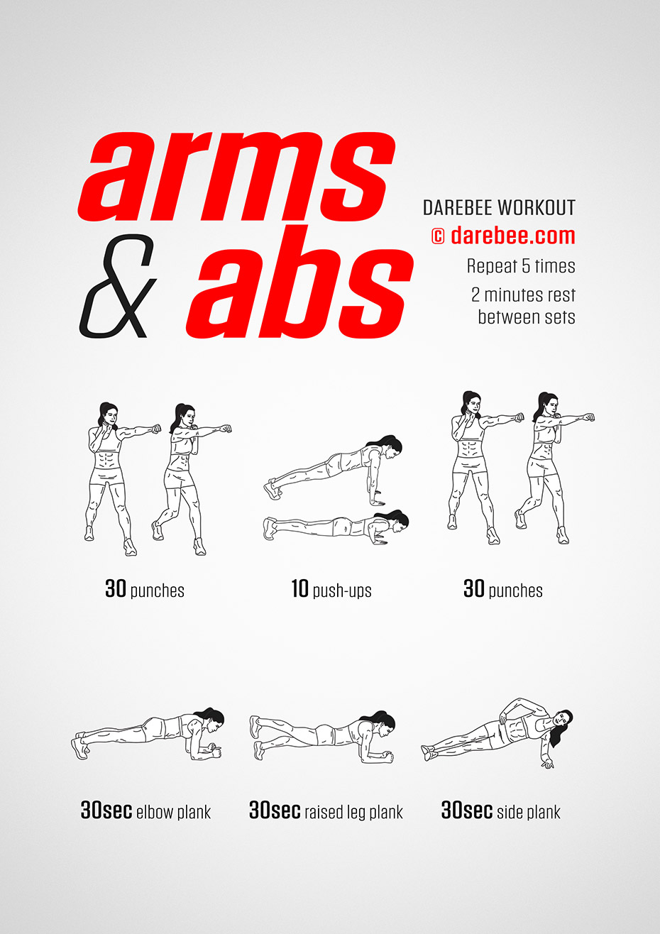 Arms Abs Workout