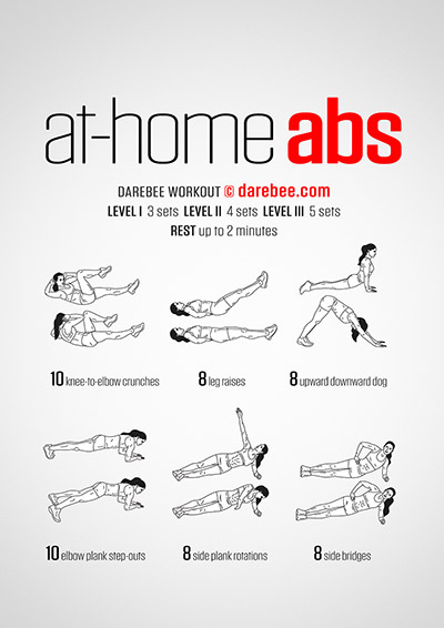 shoulder workout at home darebee workouts 30783