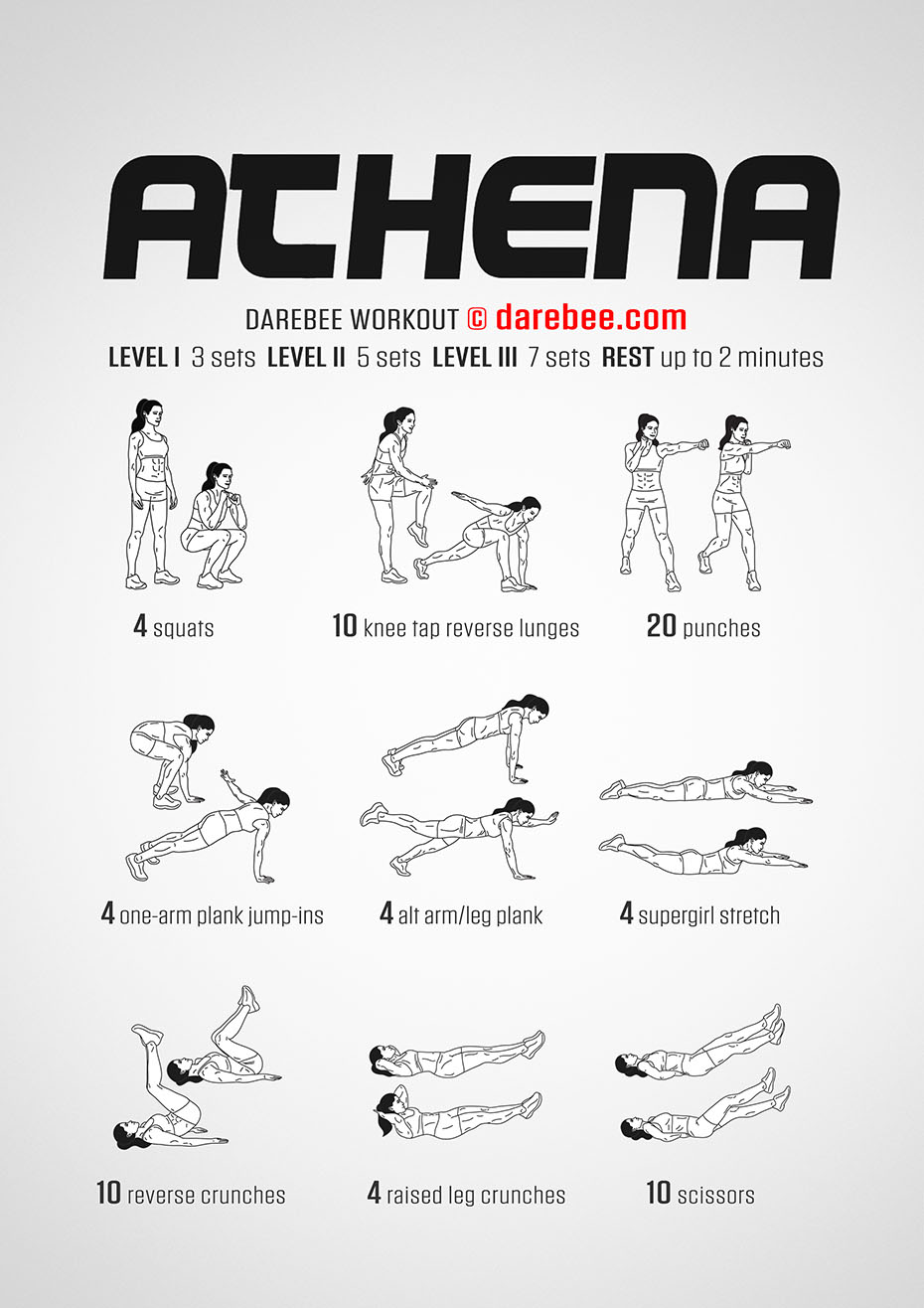 fitness exercise workout with asthma Darebee