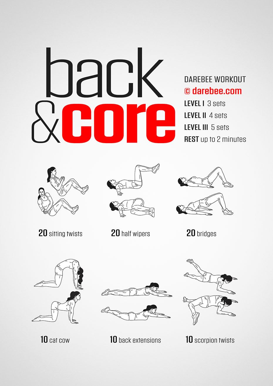 Back amp Core Workout